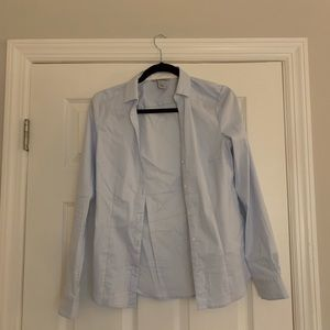 Light blue H&M business top